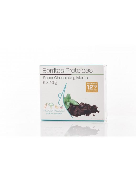 Barritas de chocolate/menta